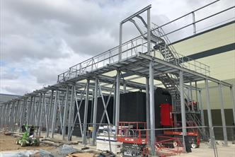 Data Centre Secondary & Plant Access Steelwork including Ladders and Platforms