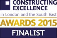 Finalist for Constructing Excellence L&SE Awards 2015