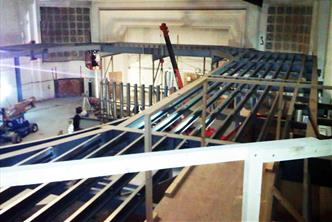 Mezzanine Floor for a Flagship Store
