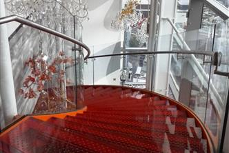 Sushi Samba Feature Staircase, Heron Tower - London